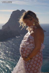 Zwanger Es Vedra sluier kleur