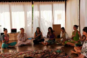 Heart meditation womens circle